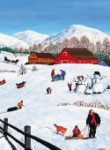 BC CHildrens Through the Snow 2016.172
