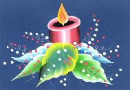 ceoli-blue-candle-189