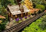 Chicago Botanic Garden Train Display Holiday eCard Thumbnail
