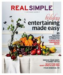 Real Simple November 2012