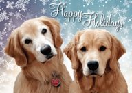 Yankee Golden Retriever Rescue, Inc  - Traditional Cards - Greet For