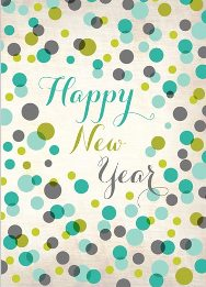 Autism Happy New Year Dots.261